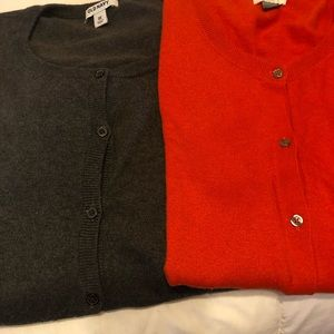 Old Navy button down sweater bundle-2. Size 3x